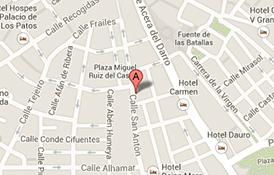 Localización Clinica Centro Granada